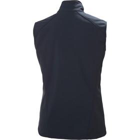 Helly Hansen Paramount Softshell Vest Dames, blauw